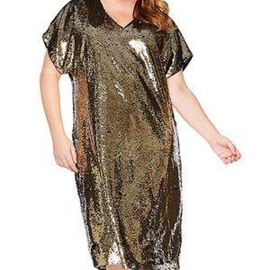Tracy Ellis Ross Sequin Dress (Plus Size)